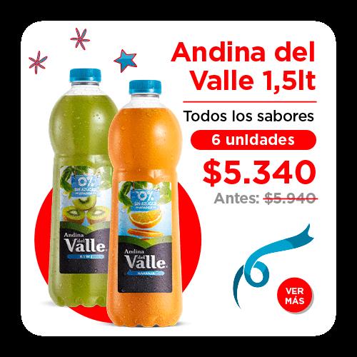 Andina del valle 1.5 litros
