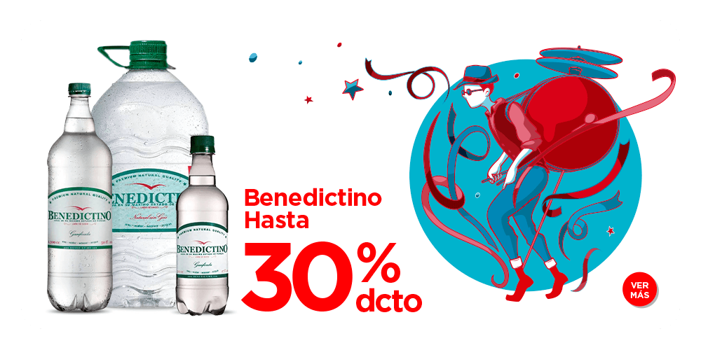 Benedictino 30% descuento