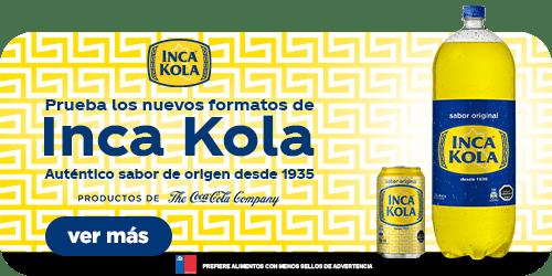 NUEVA INKA COLA EN FORMATO DE 350ml