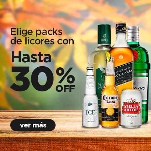 MASTERPACK ALCOHOLES HASTA 30%OFF