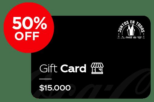 Gift card restaurante