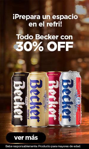 Becker hasta 30%