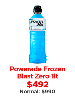 Powerade Frozen Blast Zero
