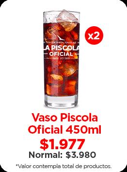 Vaso Piscola