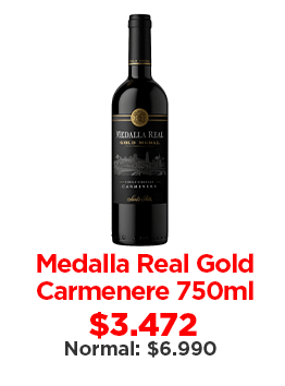 Medalla Real Gold Carmenere