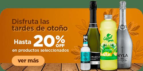 TARDES DE OTOÑO HASTA 20%OFF