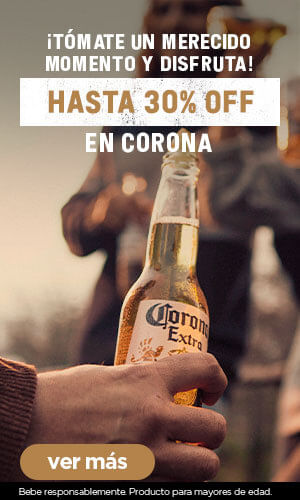 Corona hasta 30%