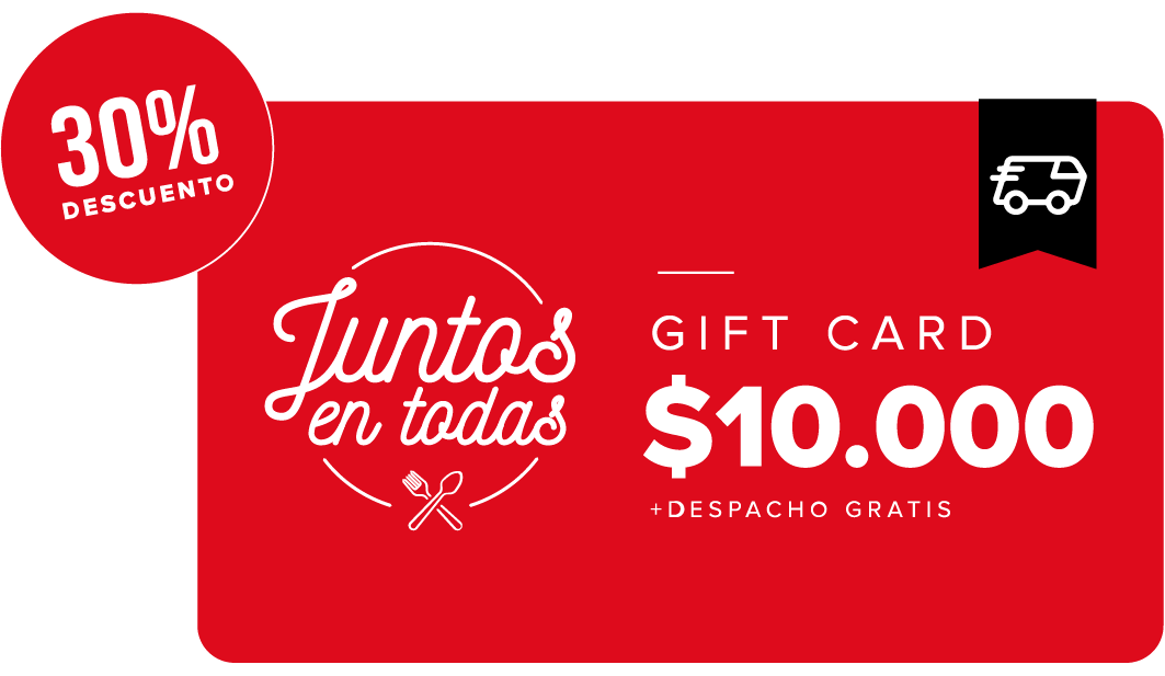 Giftcard Black Locales